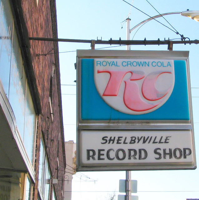 RC Cola & Shelbyville Record Shop