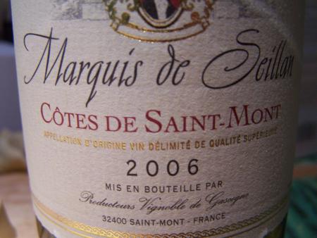 Marquis de Seillan 2006