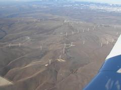 I012508 666 (brewbooks) Tags: windmill washington power windmills electricity geography mooney airborne windfarm windowseat goodnoehills windturbinegenerator i012508 goodnoehillswindfarm