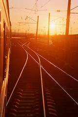 Transsiberian sunset (Jeff Bauche._.)) Tags: voyage travel sunset jeff train sunrise photography travels rails transsiberian voyages bauche jeffbauche jeanfranoisbauche jeffbauche jeffbauchehotmailcom