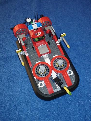Feuerwehr-Luftkissenboot