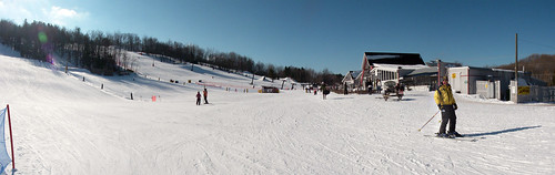 Marquette Mountain - base of hill - panoramic