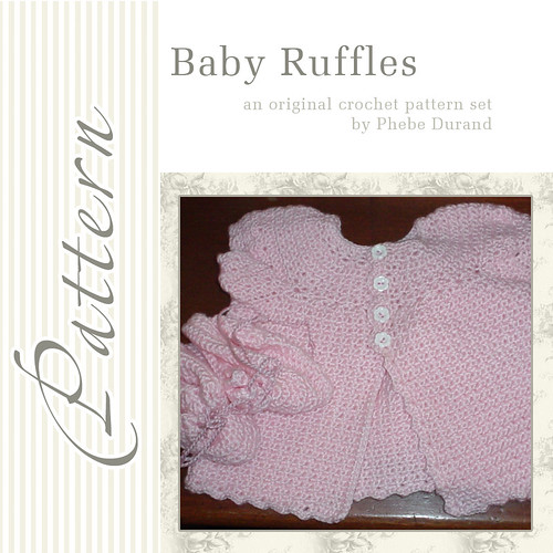 Baby Ruffles Crochet Set