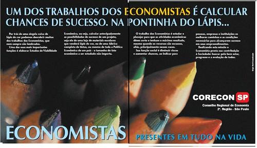 Lápis - Campanha - economistas