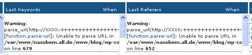 WP-ShortStat-http://XXXX:+*-URL-Problem