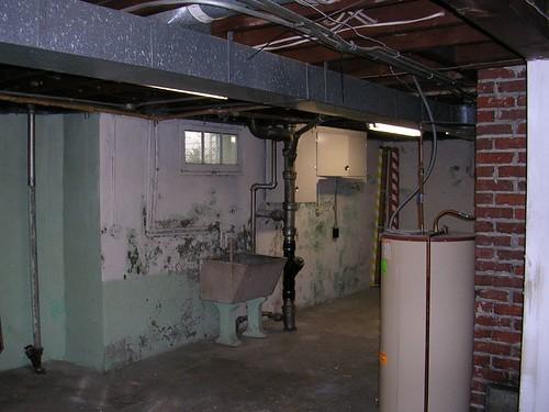 Portland Bungalow Renovation Prepping A Basement For Paint