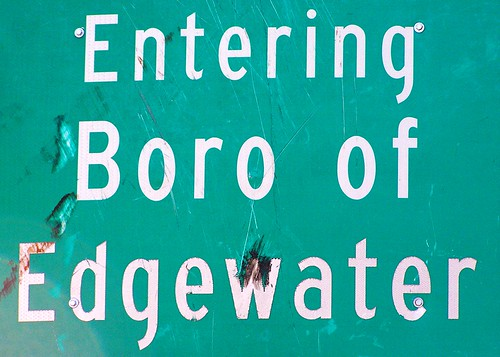 Borough of Edgewater in Bergen County, New Jersey