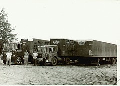 Rausch trucks and drivers (light reading) Tags: dad semi 1950s trucking truckers cherokeeiowa truckinghistory