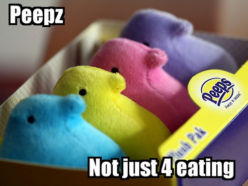 Peepz - Not just 4 eating