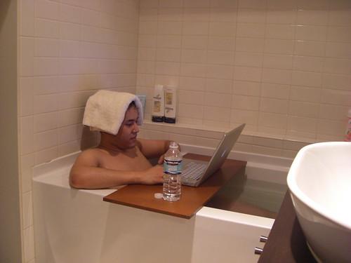 風呂 in USA