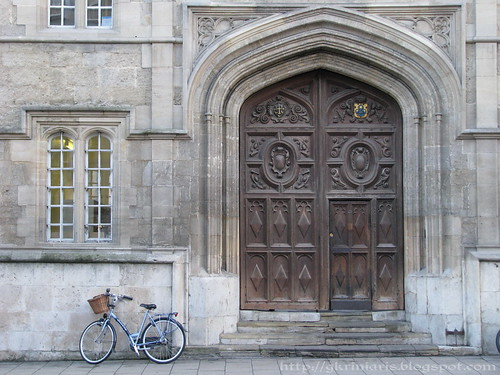 Oriel College's Gate