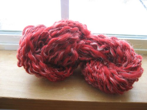 lumpy practice yarn