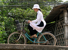 @ delta del mekong (gepiblu) Tags: canon river romy student fiume delta vietnam d30 mekong d20 studentessa gepiblu
