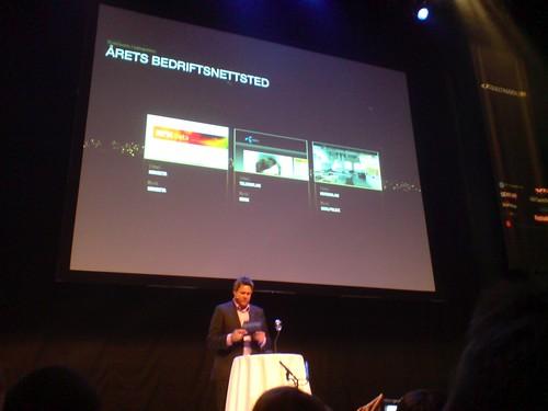 """NRKbeta nominert som """"Årets bedriftsnettsted"""""""
