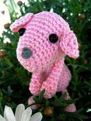 Crocheted Pink Friend (Pink Pixel Photography (f.k.a. Sunny)) Tags: pink canon japanese handmade crochet rosa yarn amigurumi garn craftwork handgemacht hkeln japanisch handarbeit canonixus70