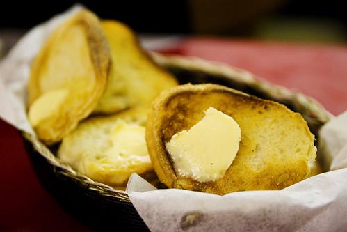 pre-buttered bread