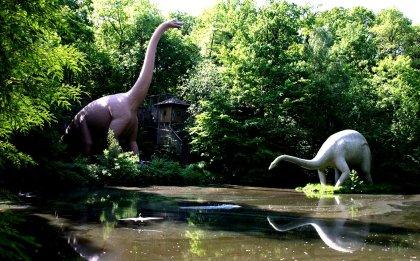 Dinos im Saurierpark Kleinwelka (Bautzen)