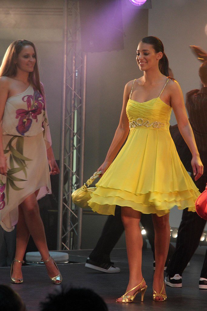 Karen Millen Yellow Dress