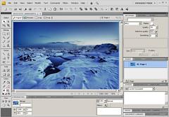 FireWorks CS4 Beta ekrānšāviņš