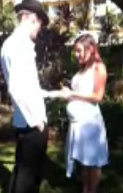 Rhea's wedding