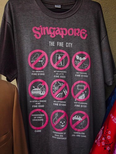 Singapore, the fine city