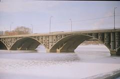 09320030 (é_é) Tags: zorki bridge november film russia domino ekaterinburg