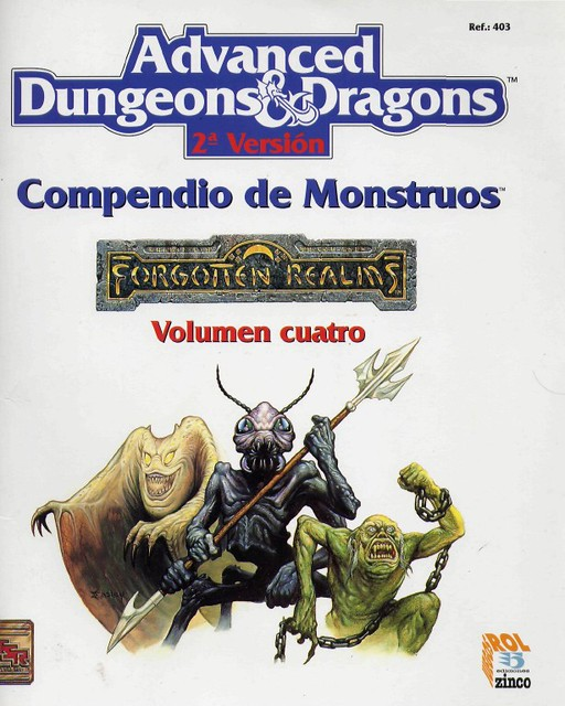 Compendio de Monstruos vol. IV