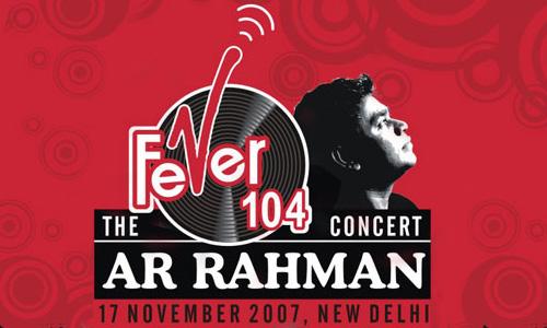A. R. Rahman Concert, Delhi