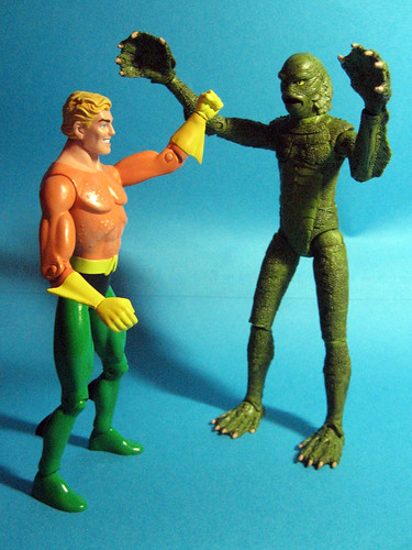 Aquaman and Creature from the Black Lagoon