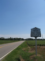 Confederate First Line - Averasboro Battlefield (Adam's Journey) Tags: signs favorites northcarolina civilwar 2007 ruralscenes historicalmarkers averasborobattlefield nc82