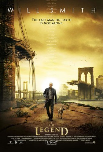 I Am Legend (2007) one sheet