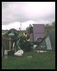 camping savage.jpg (danydo.t21) Tags: travel ireland italy dublin france art galway bicycle cheese fire artwork brittany europe artist guitar tricycle bretagne solarpanel greece shows trailer busker juggling juggler performer busking streetentertainer airbrush chickenman arcana solarpower bergerac aquitaine framus dannysharp spectacleecologique jongleurautomatique amyahern
