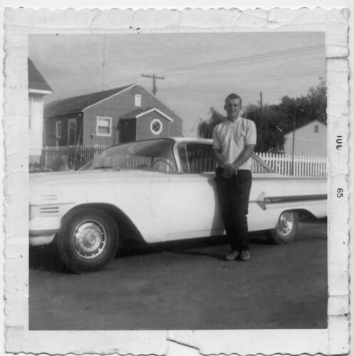 Cal with his BADASS wheels-July65