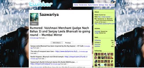 saawariya on twitter