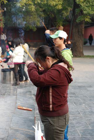 Pekin - temple des Lamas (5) [480]