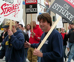 WGA Strike - Jerry O'Connell?
