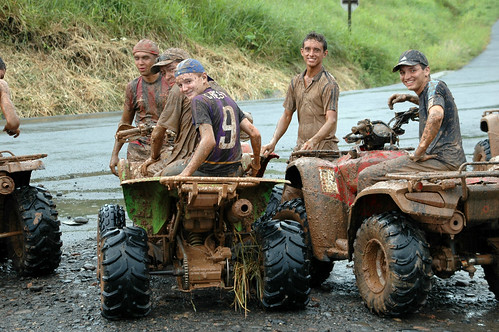 ATV + Mud = Fun
