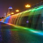 Nanhu Bridge - by Night