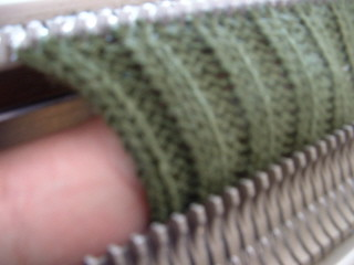 Examining Ribbing On Superba Knitting Machine