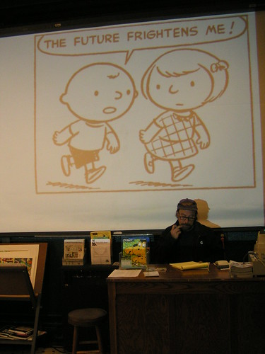 Unseen Peanuts, Fantagraphics Bookstore & Gallery, 11/23/07