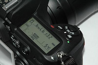 The Nikon D300 in BULB mode