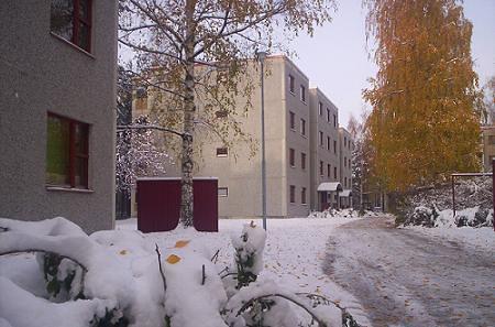 Los pisos de estudiantes de Latolankatu, donde muchos erasmus vivían