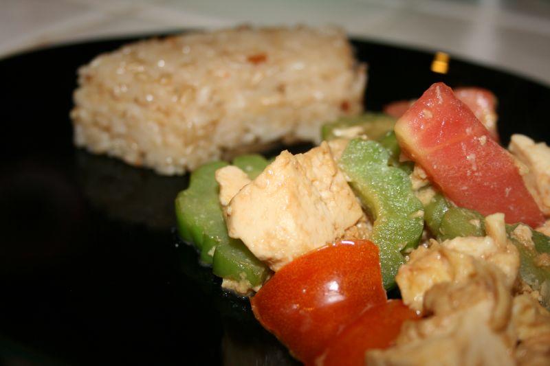 Bitter Melon & Tofu Stir Fry