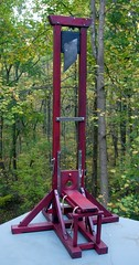 Guillotine model 1954 (andreobrecht) Tags: death deathpenalty beheading guillotine decapitation fallbeil