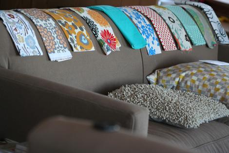 former fabric options
