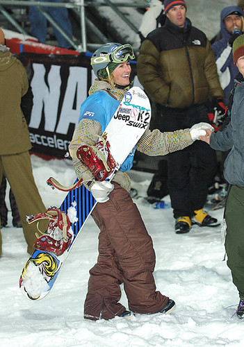 Gretchen Bleiler, Women's Snowboard Superpipe Finals, Gold, Winter X Nine
