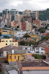 Quito cityscape