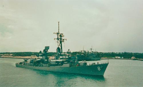 U.S.S Lynde McCormick  DDG 8