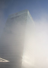 Foggy Day at Canary Wharf #3
