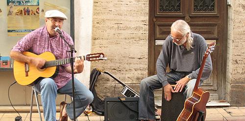 Street Musicians in Menton